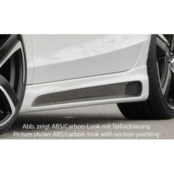 Rieger side skirt Audi A4 S4 (B8/B81)