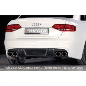 Rieger rear skirt extension Audi A4 S4 (B8/B81)