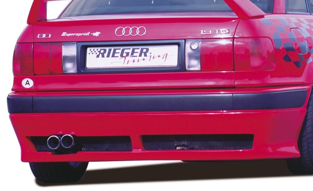 Rieger rear skirt extension   Audi 80 Type B4