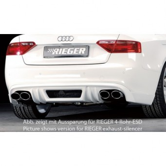 Rieger rear skirt extension Audi A5 (B8/B81)
