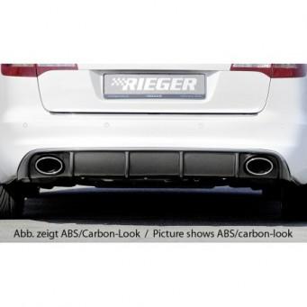 Rieger rear skirt insert Audi A6 (4F)