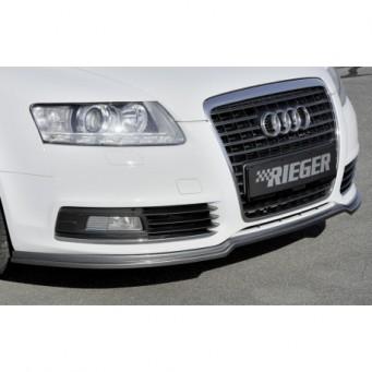 Rieger front spoiler lip Audi A6 (4F)