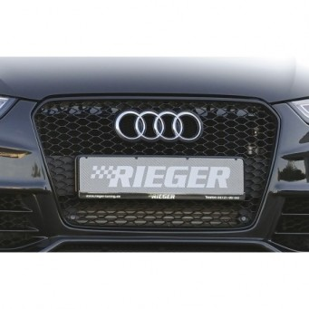 grille audi RS4, glossy-black Audi RS4 (B8)