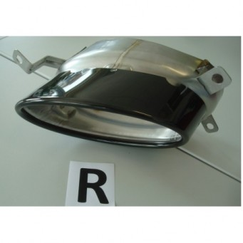 Exhaust-deflector black, right Audi RS5 (B8)