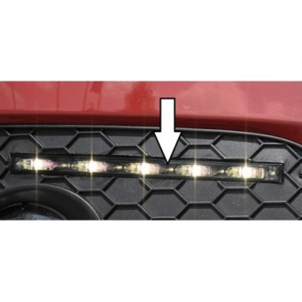 LED daylight driving lights with control modul Audi Scirocco 3 (13)