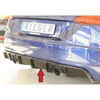 Rieger rear skirt insert Audi TT (8J-FV/8S)