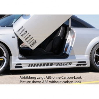 Rieger side skirt Audi TT (8N)