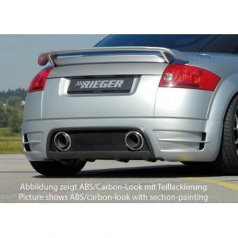 Rieger rear skirt extension   Audi TT (8N)