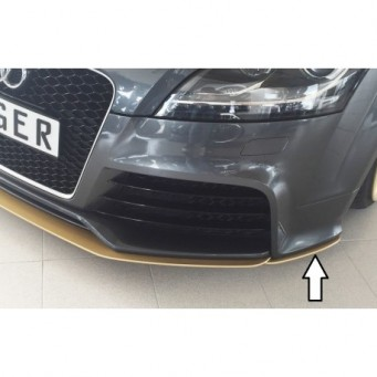 Rieger splitter laterally, left Audi TT RS (8J)