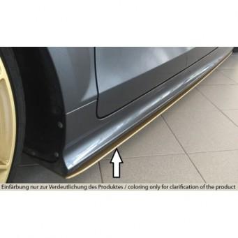 Rieger side skirt extension Audi TTS (8J)