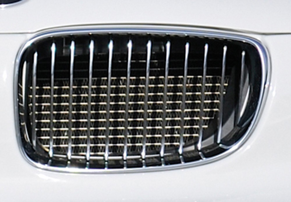 facelift BMW-grille left, chrom/black BMW 1-series E81 (187/1K2/1K4)
