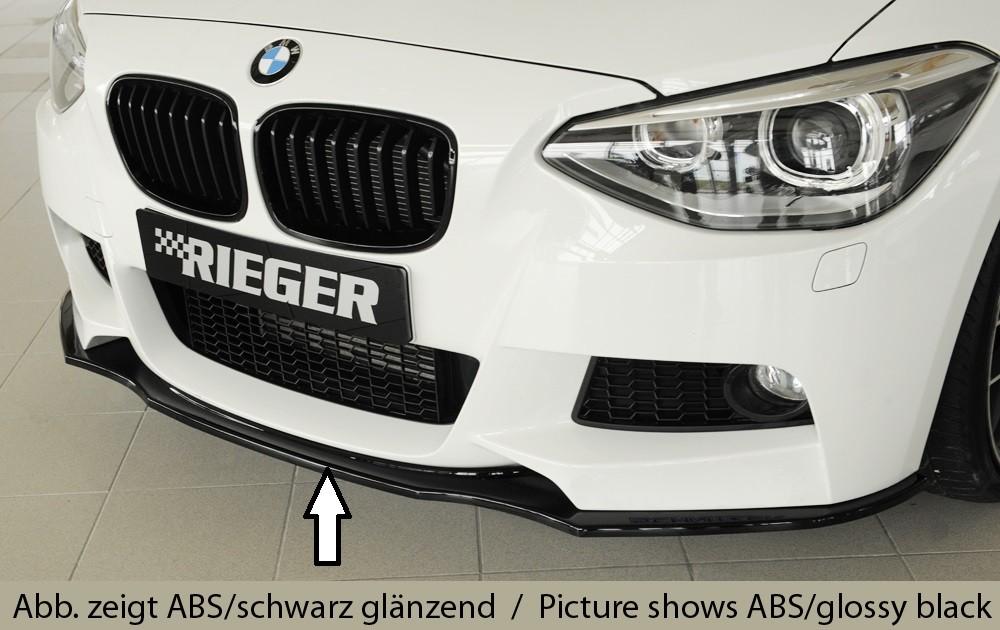 Rieger front splitter BMW 1-series F21  (1K2)