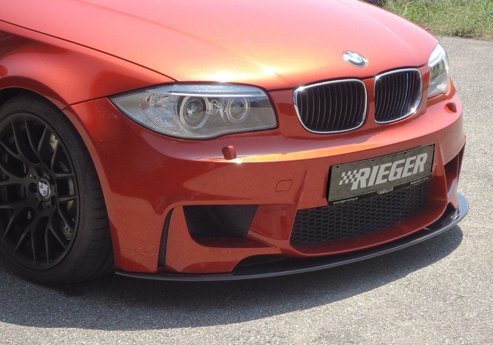 carbon splitter for BMW 1er M Coupe E82 BMW 1-series M Coupe  (M-V)