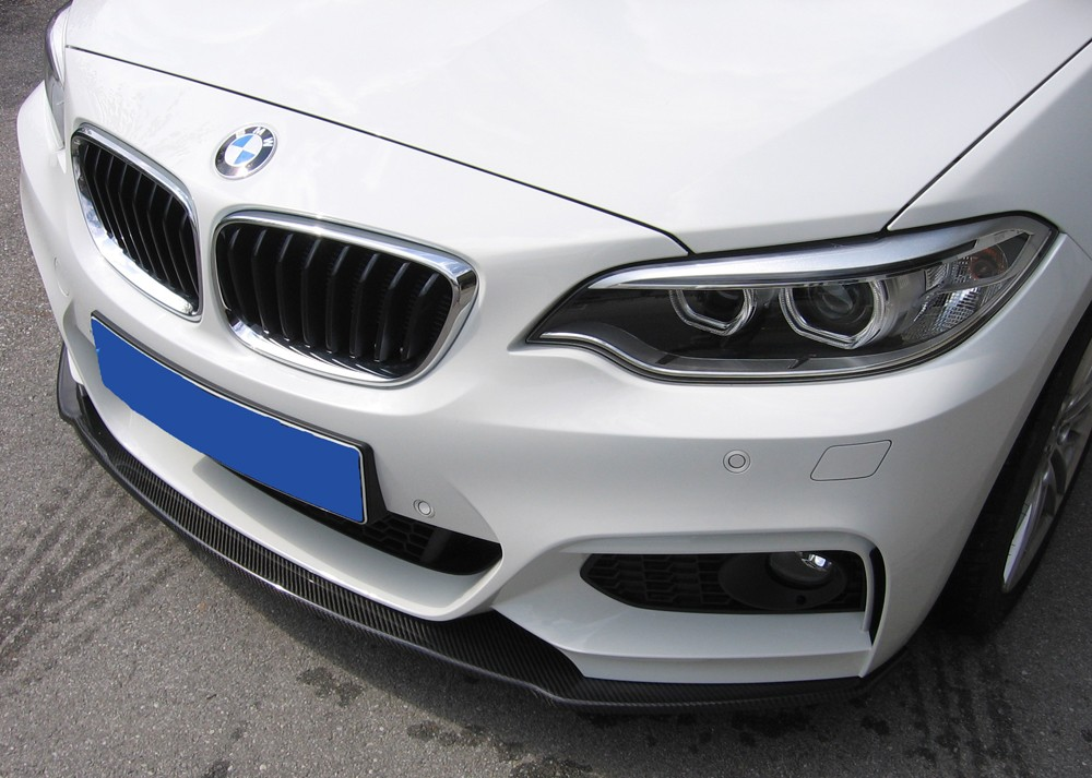 carbon splitter for BMW 2-series F22 BMW 2-series F22  (1C)
