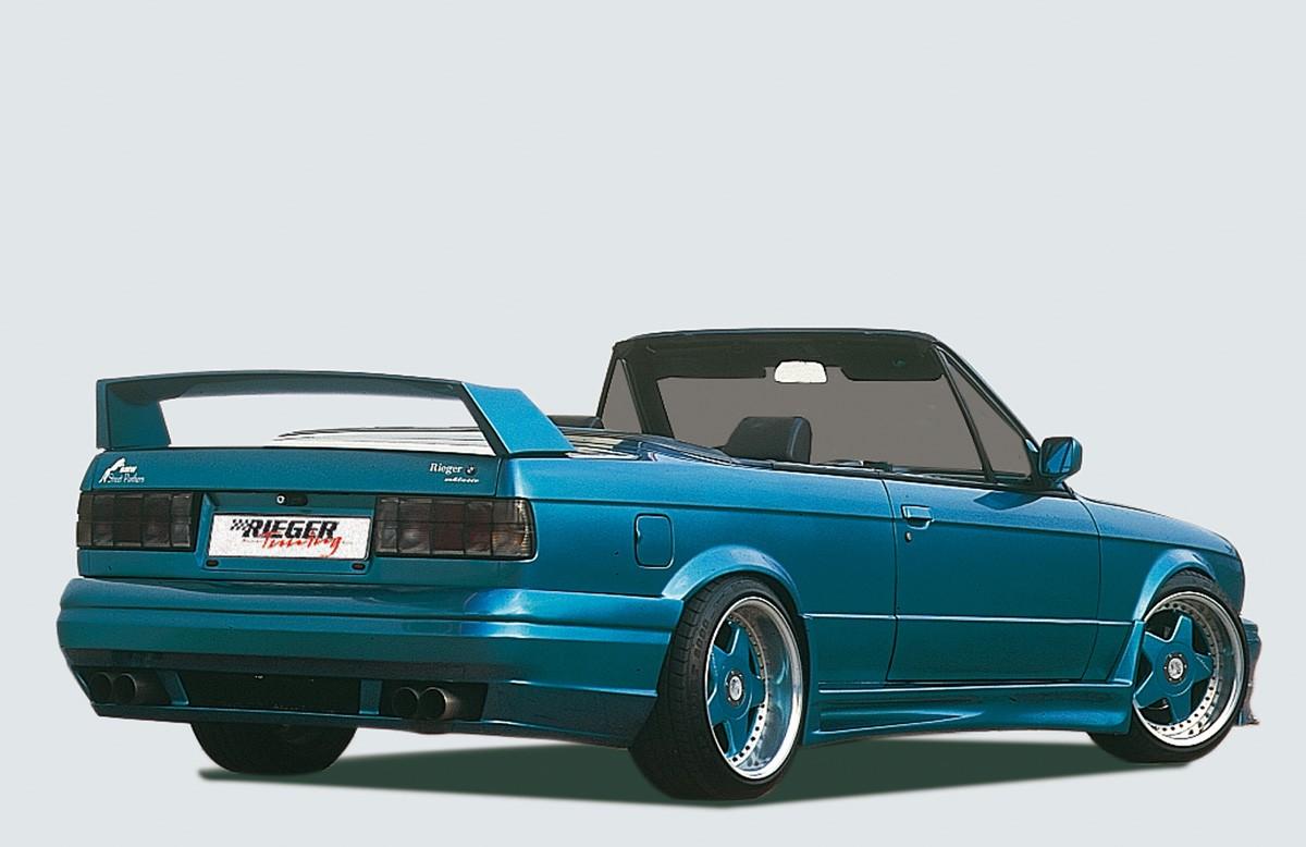 Rieger splitter for rear skirt BMW 3-series E30