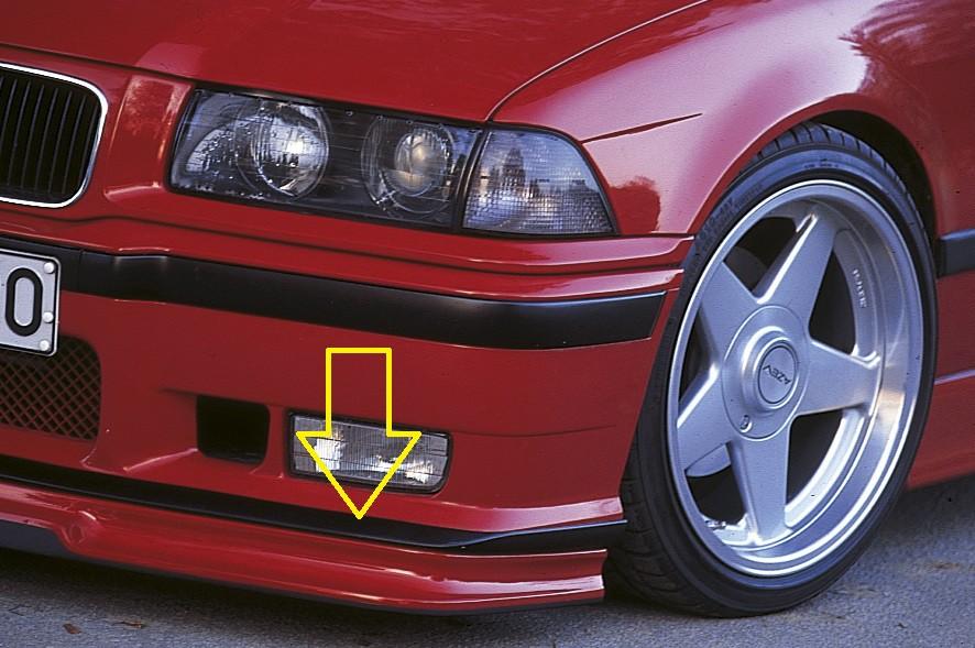 orig. BMW-E36 M3 spoilerlip BMW 3-series E36