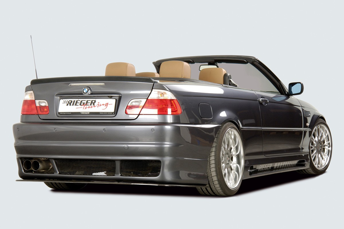 Rieger splitter (without operating license) BMW 3-series E46