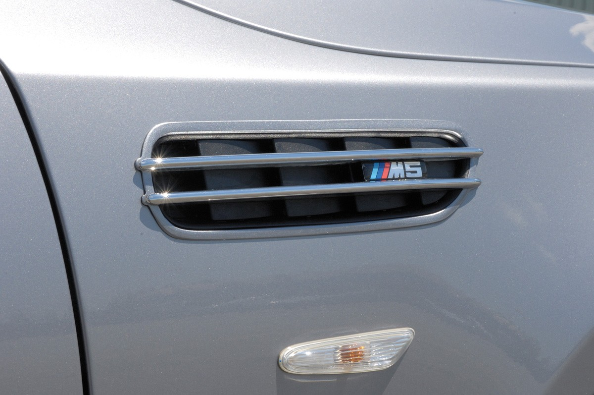 BMW air intake grid black M5-/Rieger-Logo BMW 3-series E46
