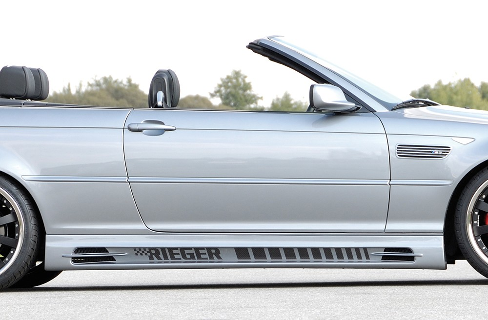 Rieger side skirt  (185mm) BMW 3-series E46 M3