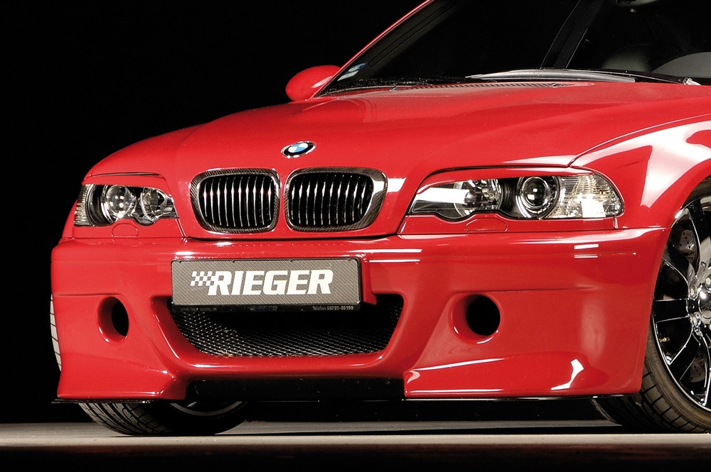 Rieger front bumper CS-Look  BMW 3-series E46 M3