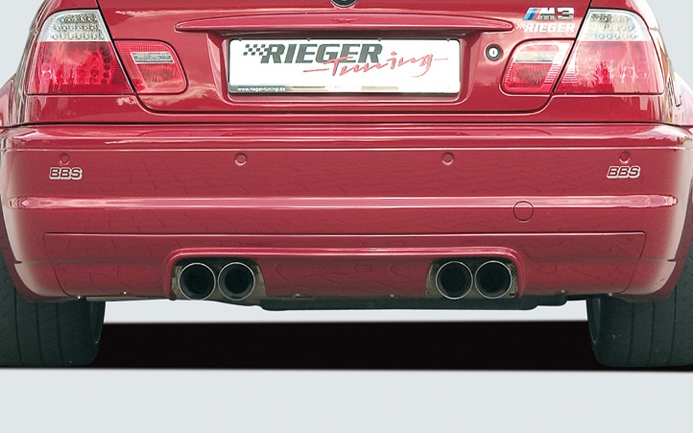 Rieger rear skirt extension CS-Look  BMW 3-series E46 M3