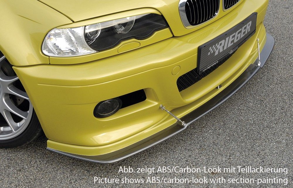 Rieger front spoiler lip   BMW 3-series E46 M3