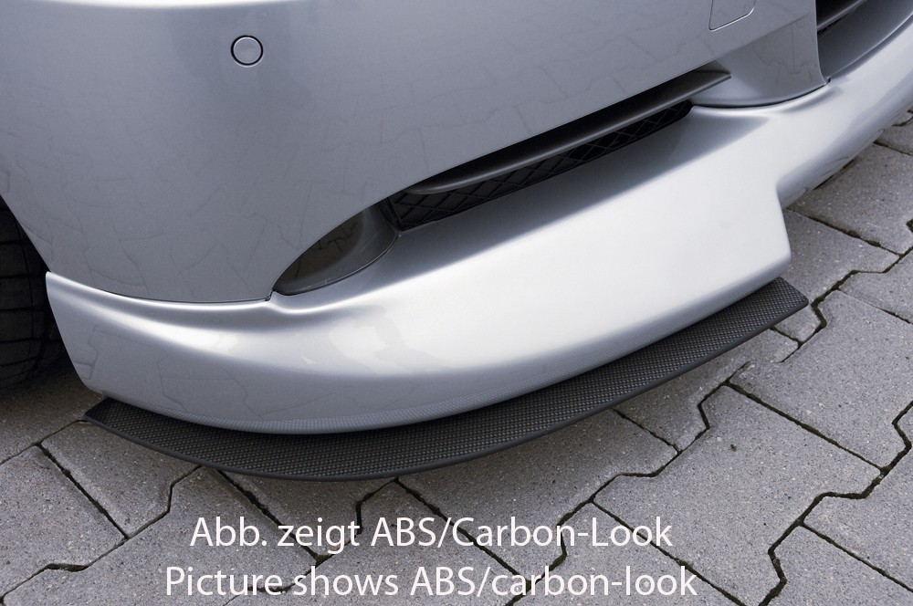 Rieger splitter BMW 3-series E91