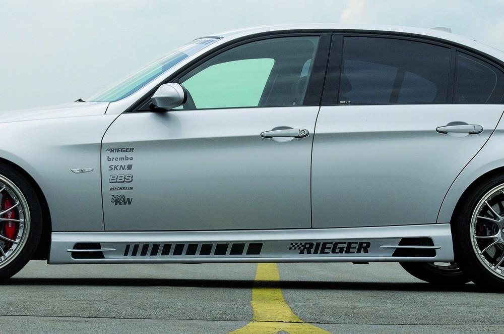Rieger side skirt BMW 3-series E91