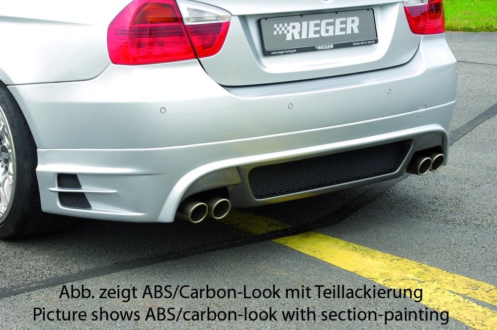 Rieger rear skirt extension BMW 3-series E91