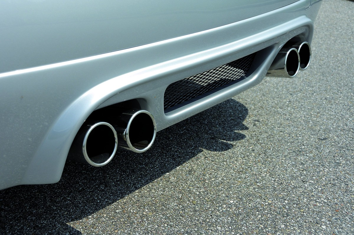 Rieger exhaust silencer, 4x90mm 335i-look, type12 BMW 3-series E91