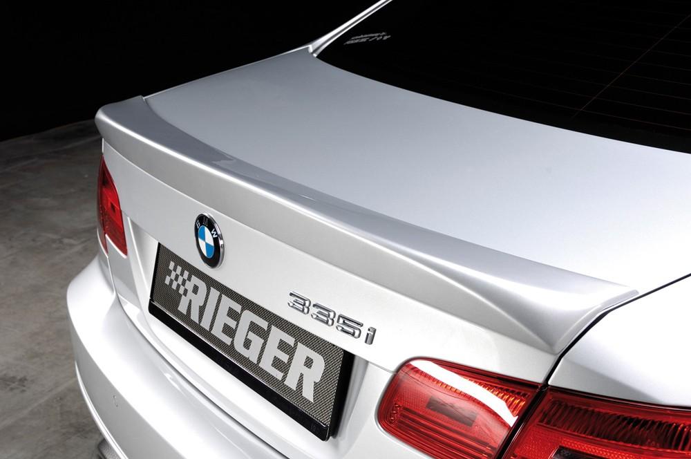 Rieger rear flap spoiler   BMW 3-series E92