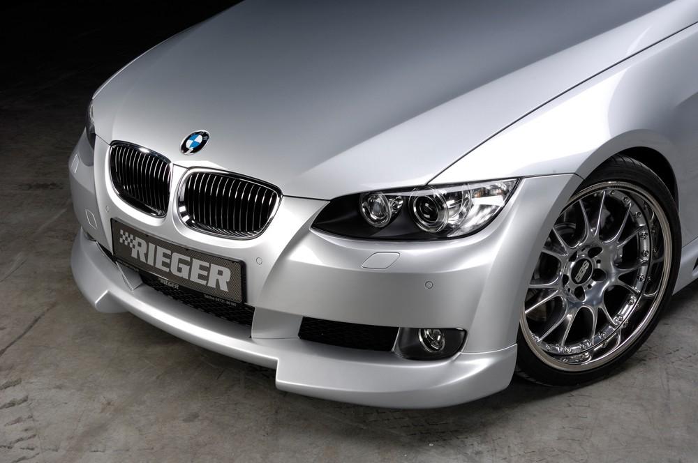 Rieger front spoiler lip BMW 3-series E93