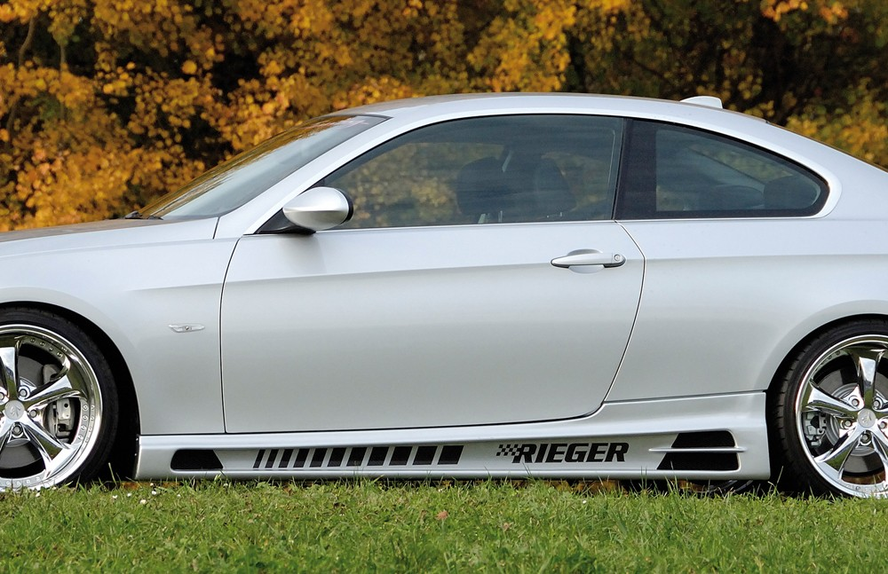 Rieger side skirt   BMW 3-series E93