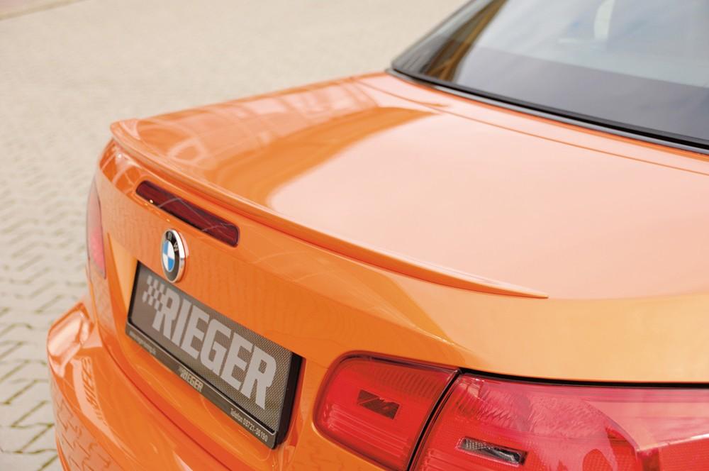 Rieger rear flap spoiler   BMW 3-series E93
