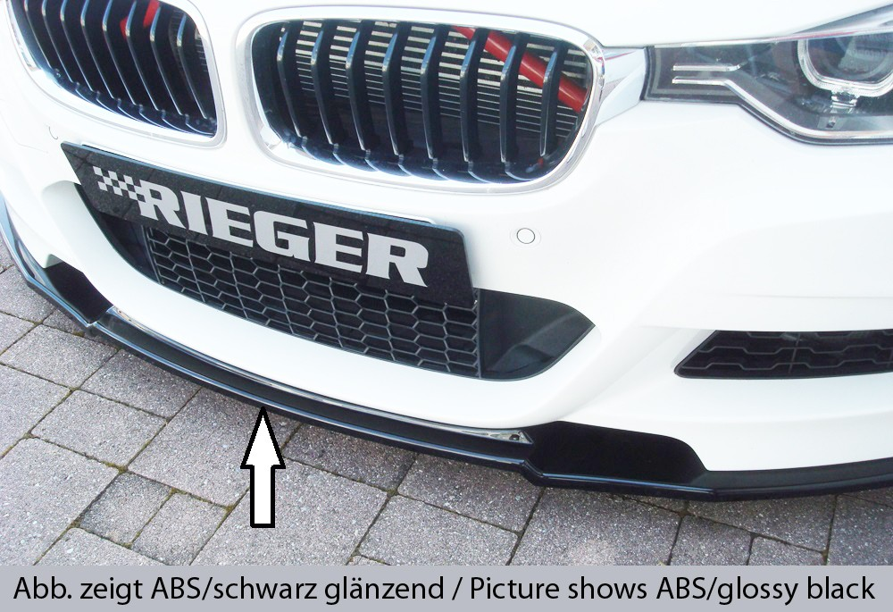 Rieger splitter BMW 3-series F30  (3L)