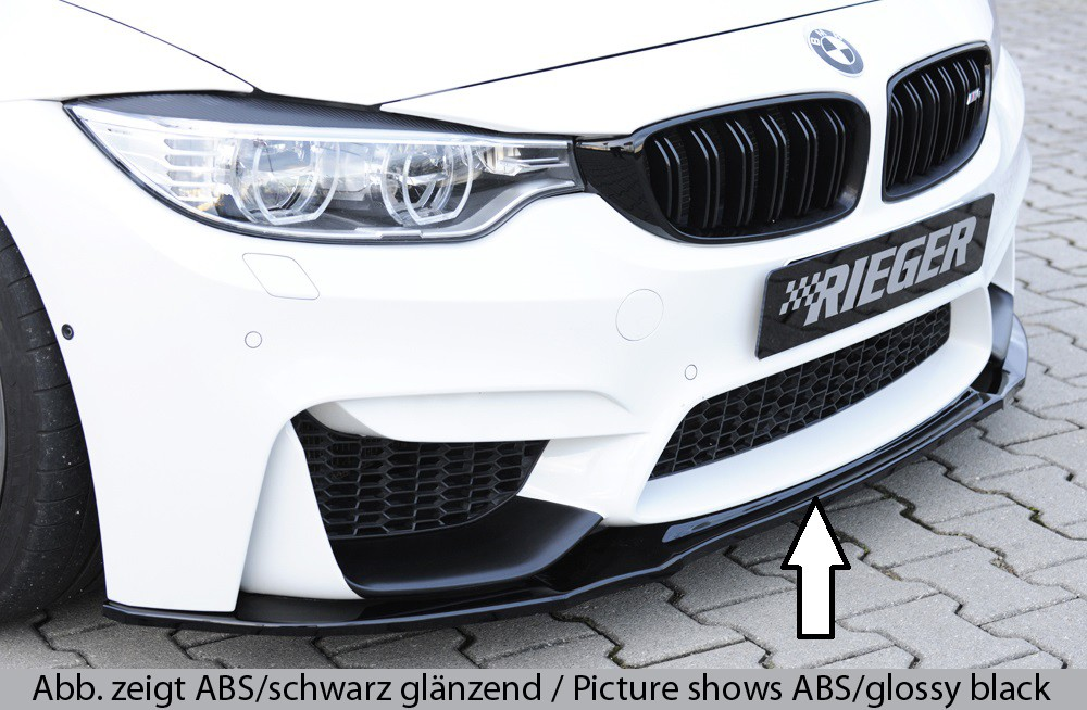 Rieger front splitter for frontbumper BMW 3-series F80 M3 (M3)