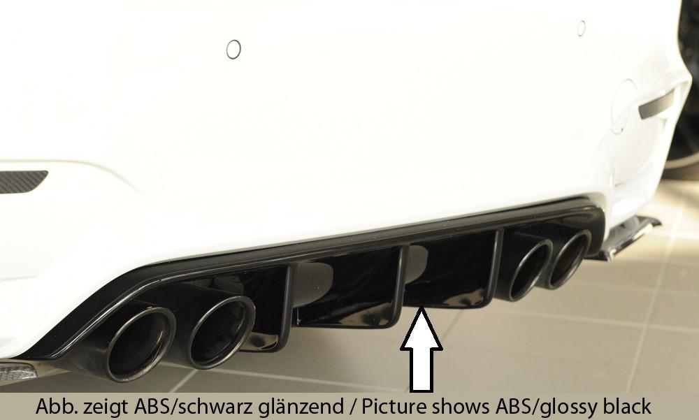 Rieger rear skirt insert BMW 3-series F80 M3 (M3)