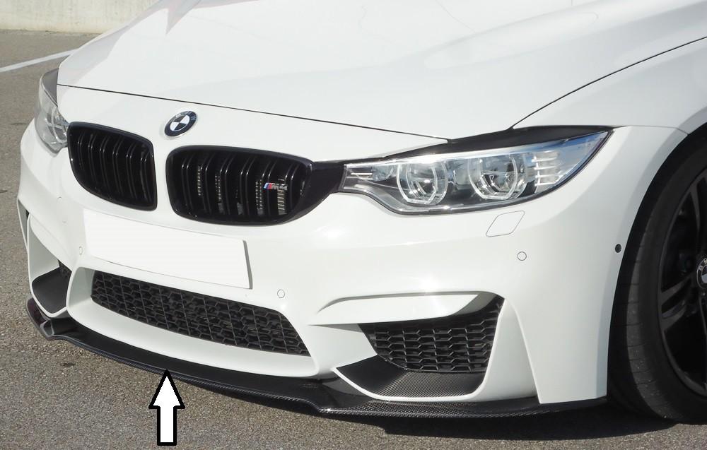 carbon splitter for BMW M4 F82/F83 u. M3 F80 BMW 3-series F80 M3 (M3)
