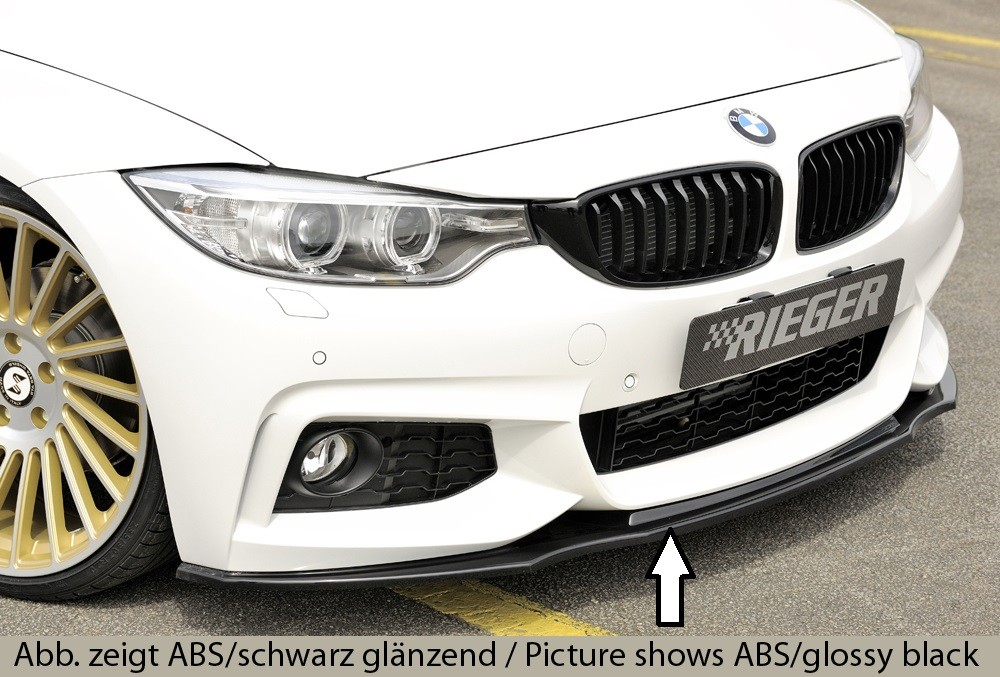 Rieger front splitter BMW 4-series F33  (3C)