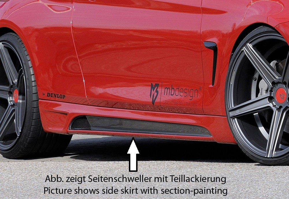 Rieger side skirt BMW 4-series F33  (3C)
