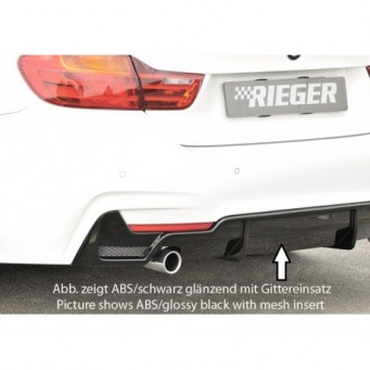 Rieger rear skirt insert BMW 4-series F36  (3C)