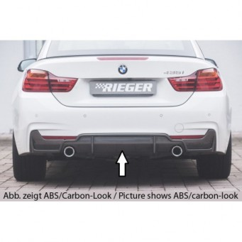 Rieger rear skirt insert (only 435i) BMW 4-series F36  (3C)