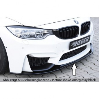 Rieger front splitter for frontbumper BMW 4-series F82 M4 (M3)