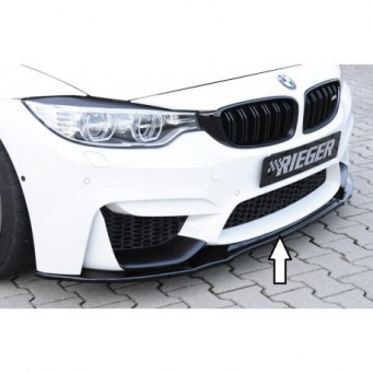Rieger front splitter for frontbumper BMW 4-series F83 M4 (M3)