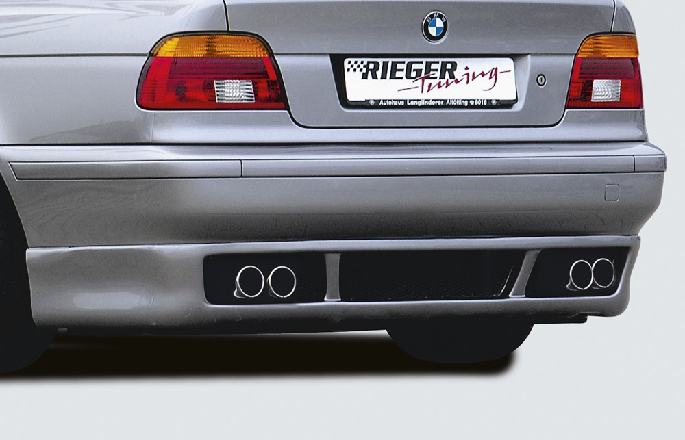 Rieger rear skirt extension BMW 5-series E39
