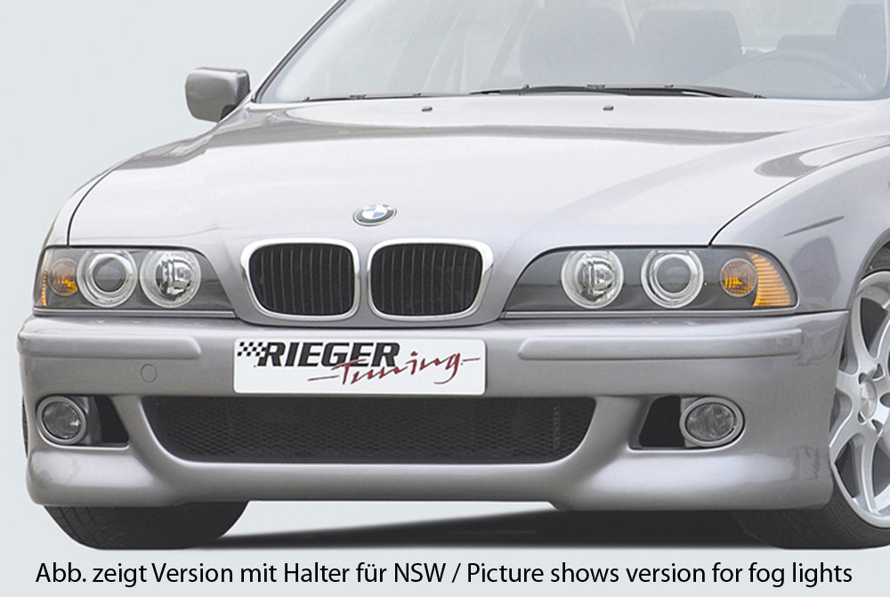 Rieger front bumper M5-Look BMW 5-series E39