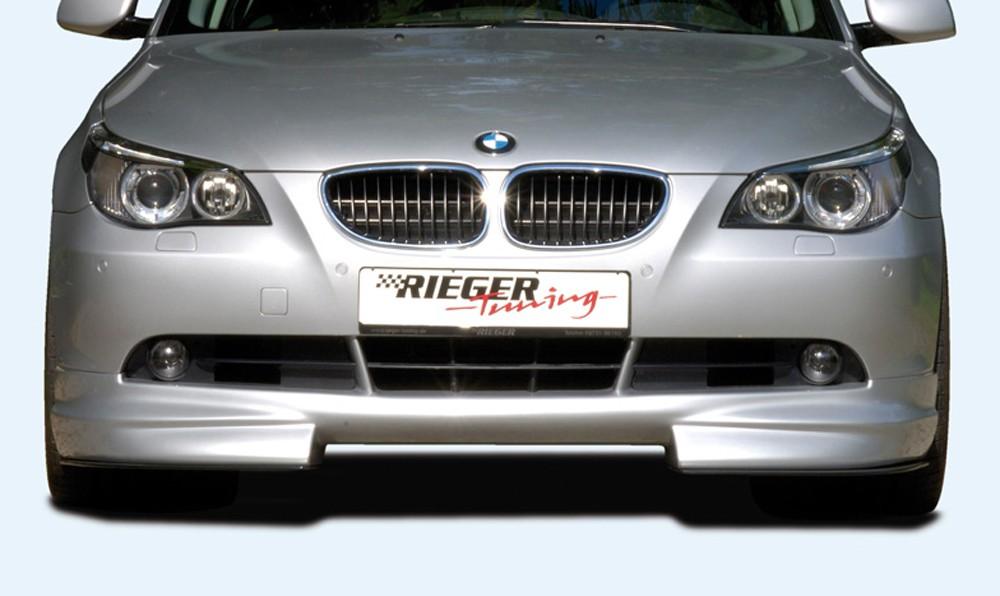 Rieger front spoiler lip BMW 5-series E60