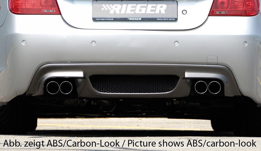 Rieger rear skirt insert BMW 5-series E60