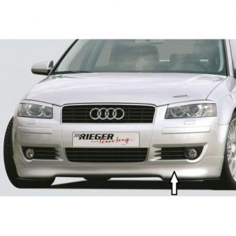Rieger front spoiler lip   Audi A3 (8P)