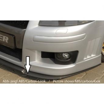 Rieger splitter Audi A3 (8P)